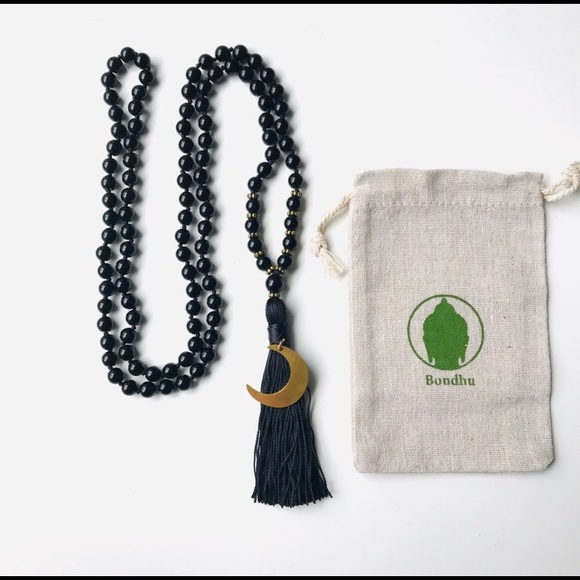 Fair Trade Onyx Druzy Pendant